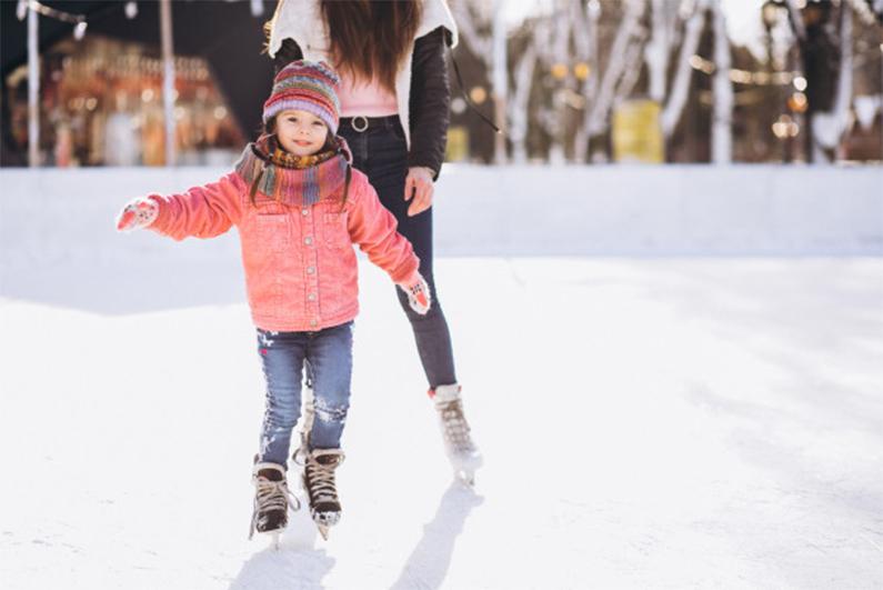skating - christmas