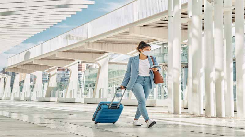 Remain healthy while travelling